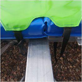 Attaches du coussin des trampolines Aéro