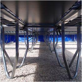 Structure du trampoline professionnel Aéro