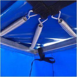 Ressorts sur les angles du trampoline Aéro