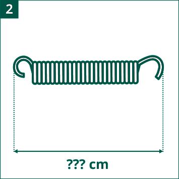 Diagrama longitud de los muelles evaluar
