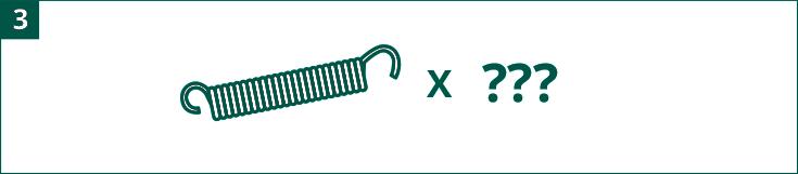 Diagrama número de muelles evaluar