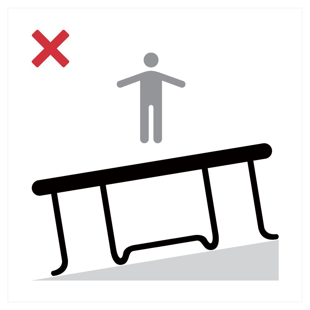 Guía de montaje cama elástica de ocio