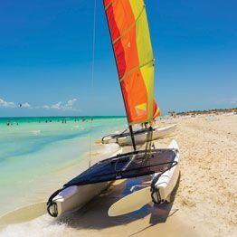Trampolín para catamaranes deportivos Hobie Cat